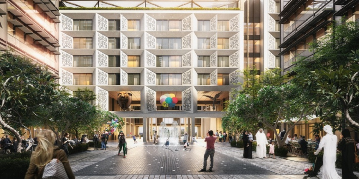 This year, the 25-hours Hotel One Central will open in Dubai
