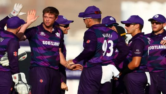 'Thick and thin' Scotland join Bangladesh in T20 World Cup second round