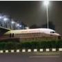 Viral: Air India aircraft stuck underfoot over bridge near Delhi airport