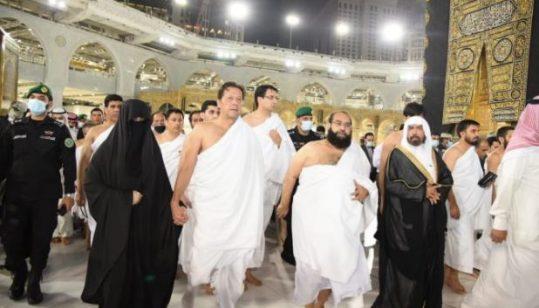 Watch: PM Imran Khan performs Umrah pilgrimage with first lady