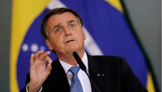Brazil's President Jair Bolsonaro has accused the investigation of being politically motivated