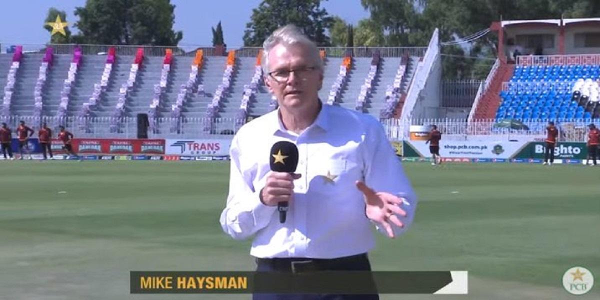 Mike Haysman love Pakistan's hospitality, watch video