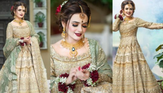 Sumbul Iqbal in thi regal bridal outfit