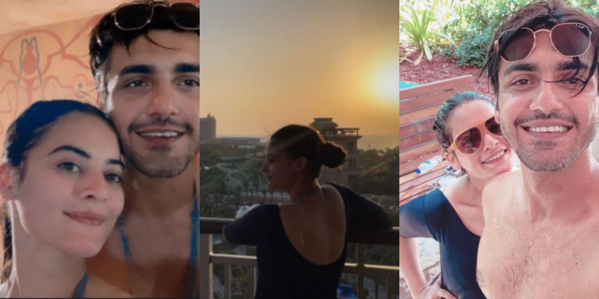 Minal and Ahsan honeymoon