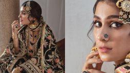 Ayeza Khan turns into a black beauty
