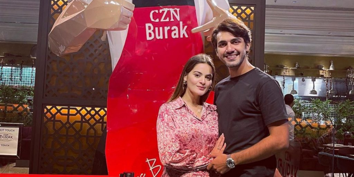 Minal Khan and Ahsan