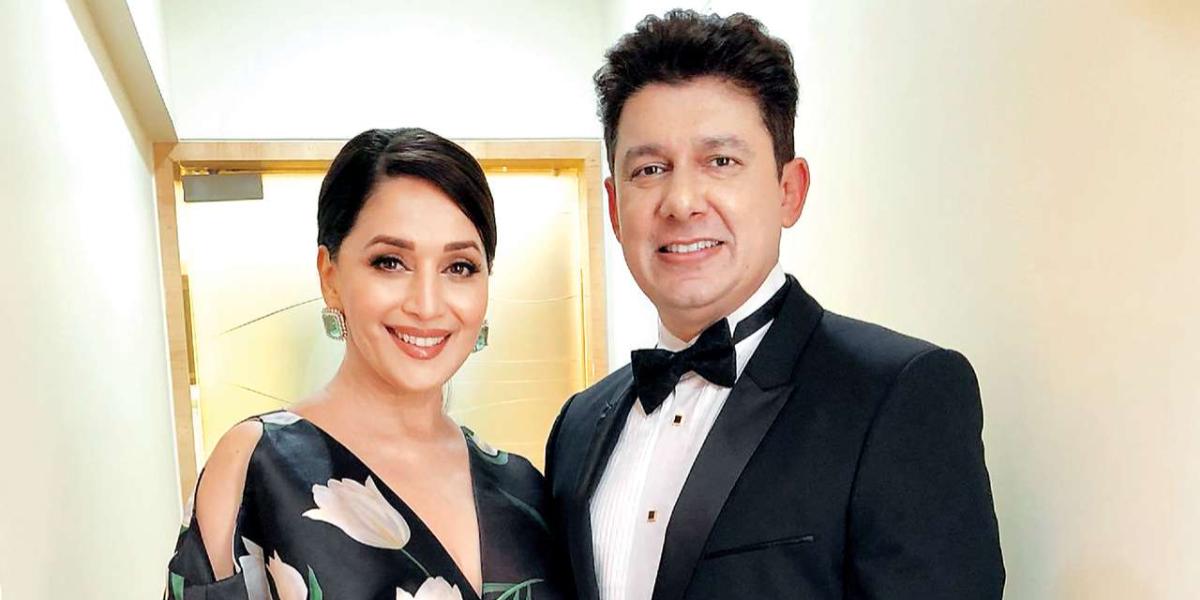 Madhuri Dixit 22nd wedding anniversary