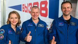 Russian first film in space