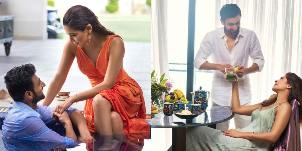 Ayesha Omar and Shoaib Malik's bold photoshoot