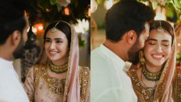 Sana Javed, Umair Jaswal 1st wedding anniversary
