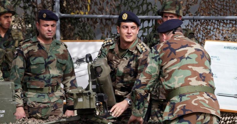 Lebanese Army receives aid from donors