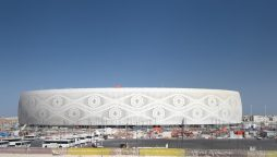 Qatar inaugurated on Friday its fifth stadium for the 2022 World Cup, Al Thumama stadium, 12 kilometres south of the capital Doha, that has 40,000 seats. (Shutterstock)