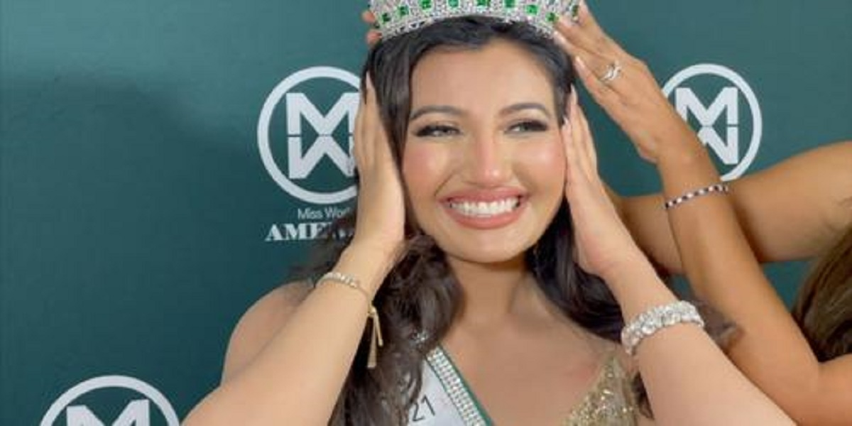 First Indian-American women crowned as a Miss World of America