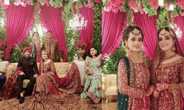 Sumbul Iqbal sister wedding reception