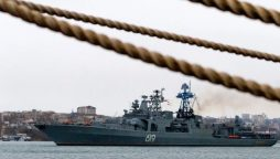 The Incident came as Russia and China conduct joint naval drills in the area