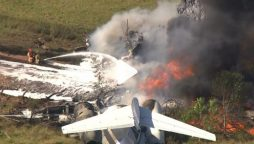 US plane crash