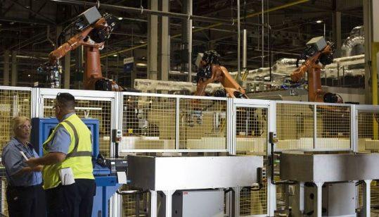 US production tumbles