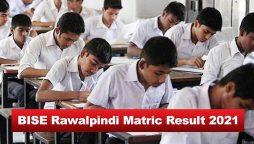 BISE Rawalpindi matric results 2021