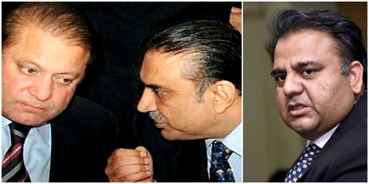 Fawad holds Zardari-Nawaz responsible for country's economic woes