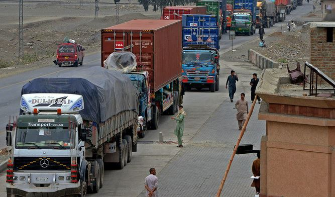 Afghani trucks