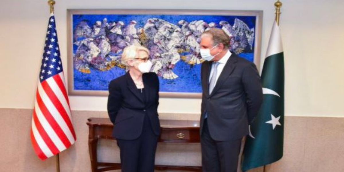 US State Dept No. 2, FM Qureshi discuss Afghanistan's future