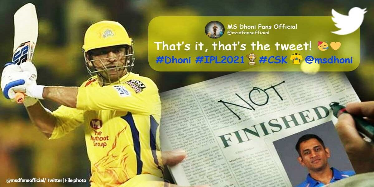 MS Dhoni followers rejoice with memes after CSK qualified to the IPL final