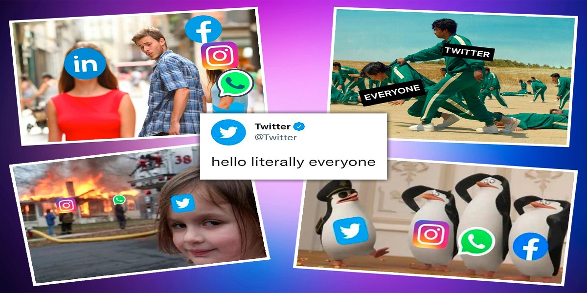 outage of Facebook, Instagram, and WhatsApp sparked a meme frenzy
