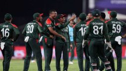 Shakib stars as Bangladesh thrash Oman to stay afloat in T20 World Cup