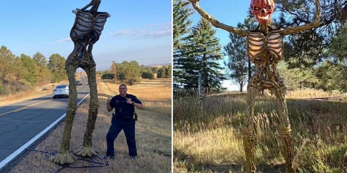 Headless Halloween Skeleton Mystifies Colorado Authorities