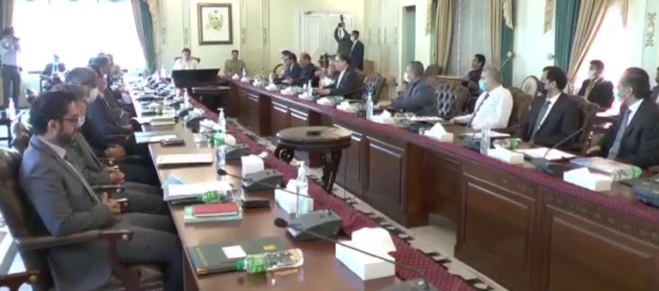 imran khan chaired the NCC meeting