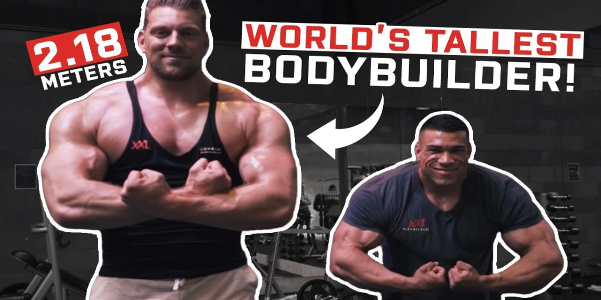 Athlete titled as 'Dutch Giant' is the world's tallest professional bodybuilder