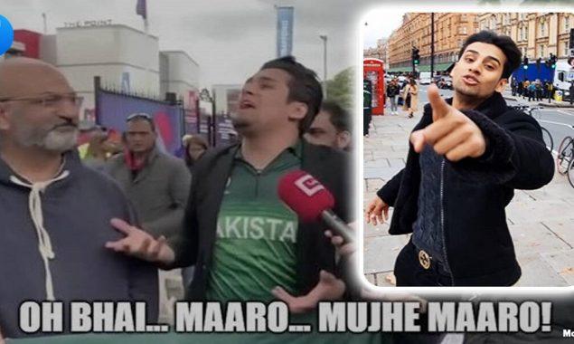 """Maaro, mujhe maaro"" guy comes with video ahead of India vs Pak match"
