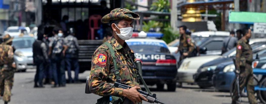 mynmar security forces
