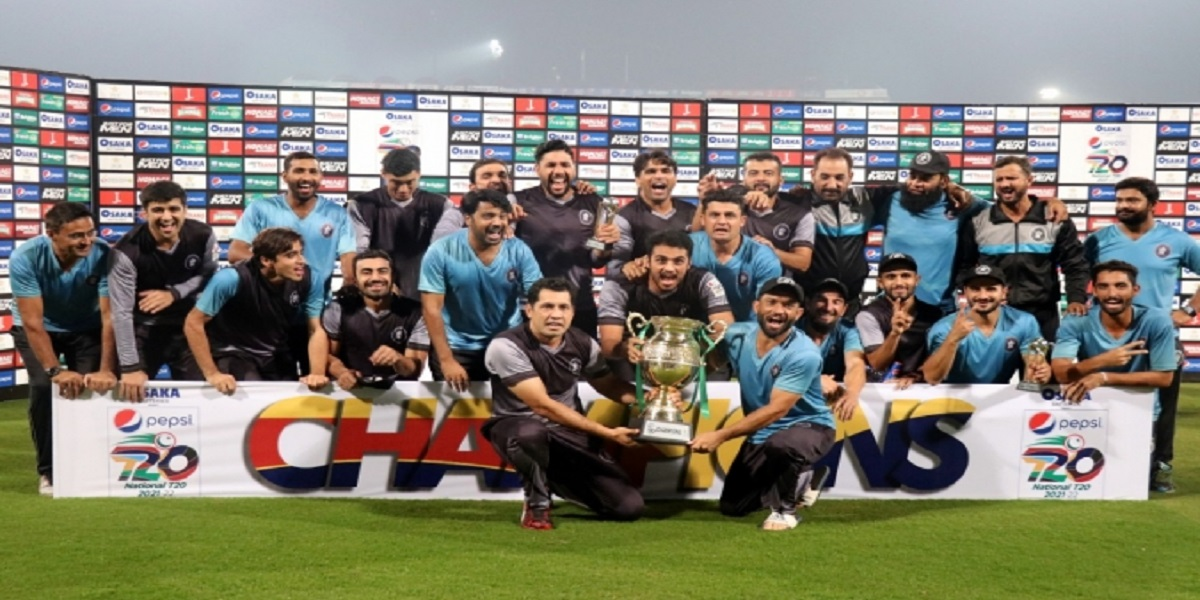 National T20 Cup: Khyber Pakhtunkhwa defeats Central Punjab in the final