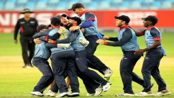 Master-blaster Wiese gives Namibia first T20 World Cup win