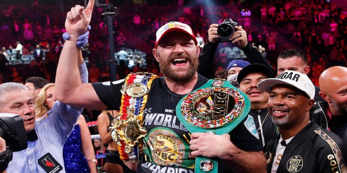 Tyson Fury retains his WBC heavyweight title after defeating Wilder