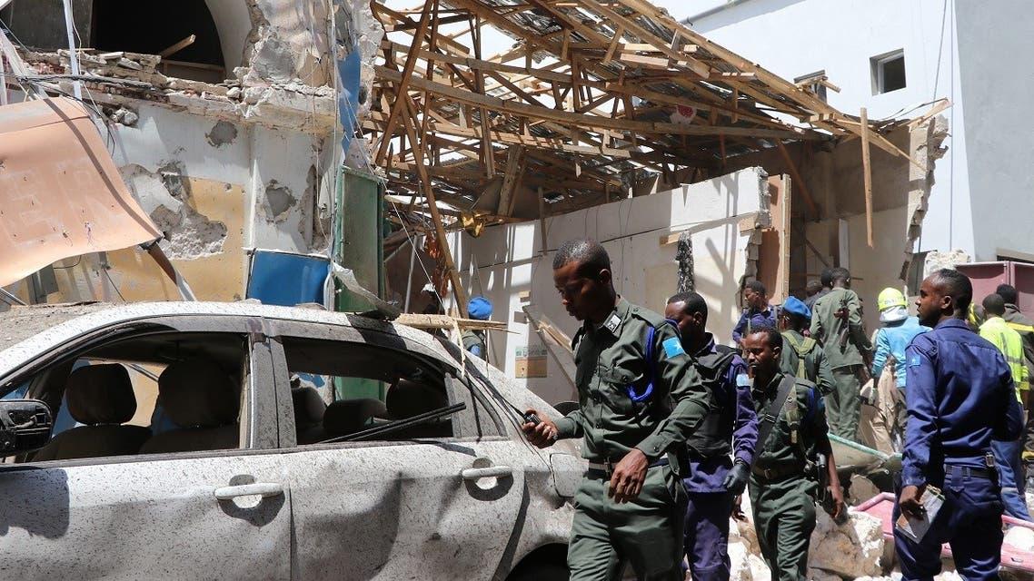 Somalia suicide attack