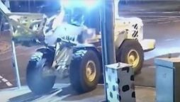 Thief flees in tractor after bungled Australian robbery