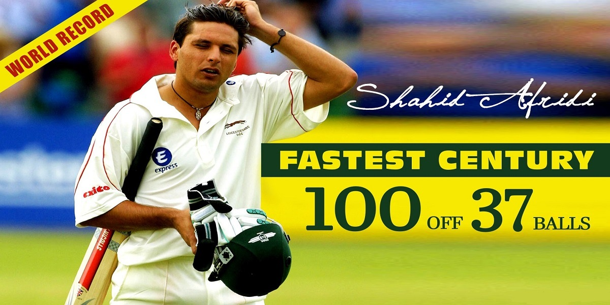 On this day: Shahid Afridi made the fastest ODI century